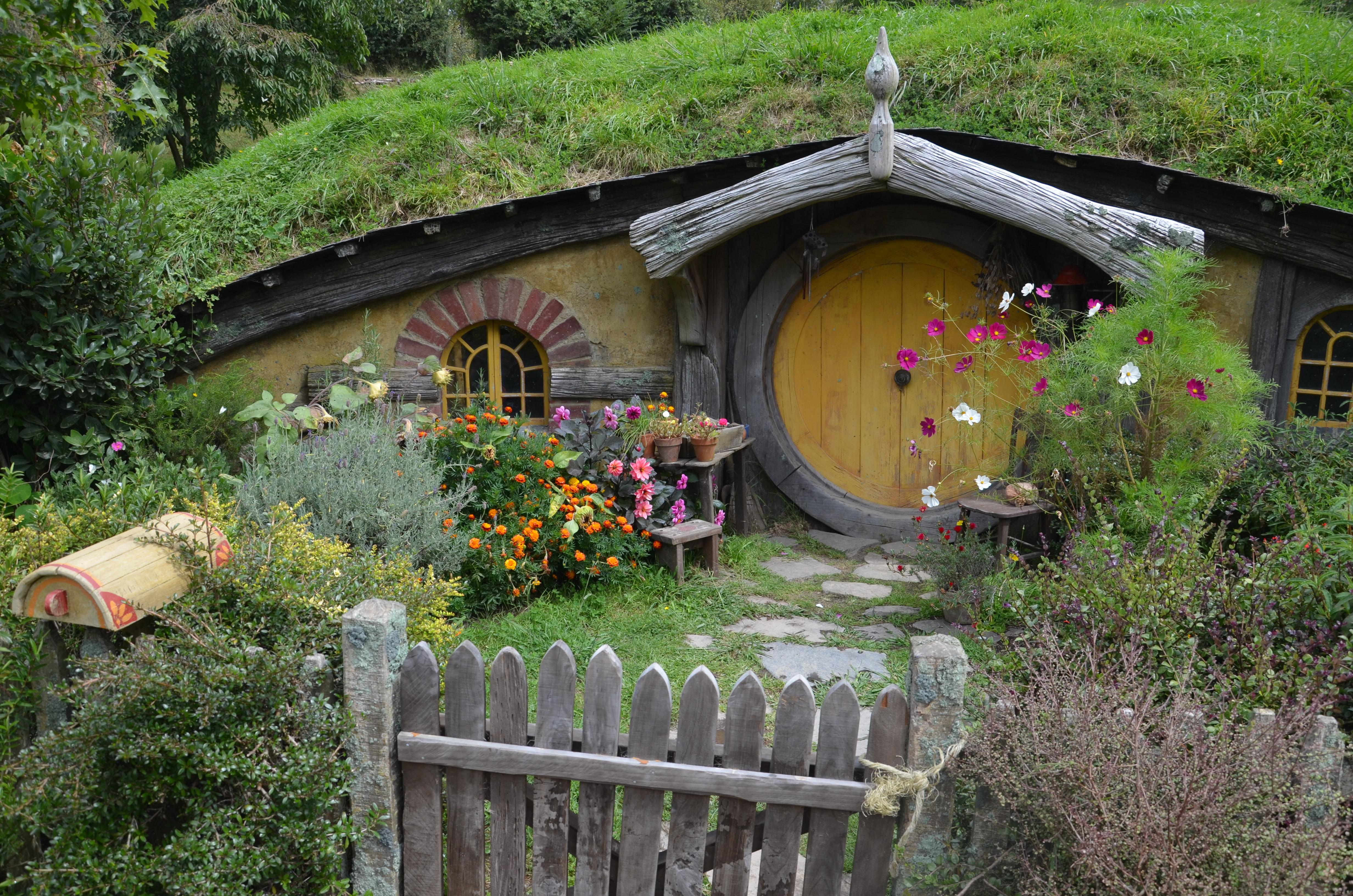 Hobbithöhle Bauen