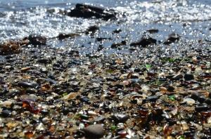 Glass Beach bei Fort Bragg