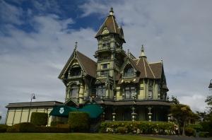 Carson Mansion in Eureka