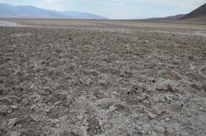 Badwater Basin (ausgetrockneter Teil, falls man es nicht sieht ;-) )