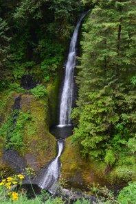 """Wasserfall in der """"Gorge"""" in der Nähe von Portland"""