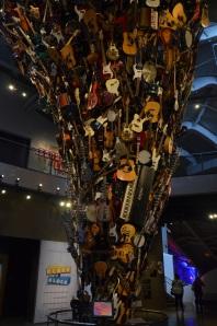 Gitarrenturm im EMP Museum