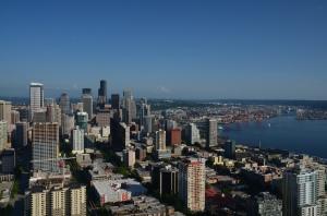 Seattle von oben